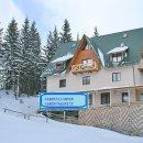 курорт Драгобрат, 200 м від підйомників     Готель являє собою 2 триповерхових будівлі на 10 і на 12 номерів (68 місць).